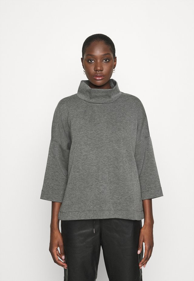 CYKLINA - Long sleeved top - dark grey melange