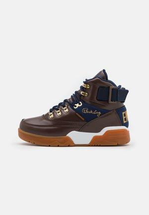 33HI - Höga sneakers - brown/navy