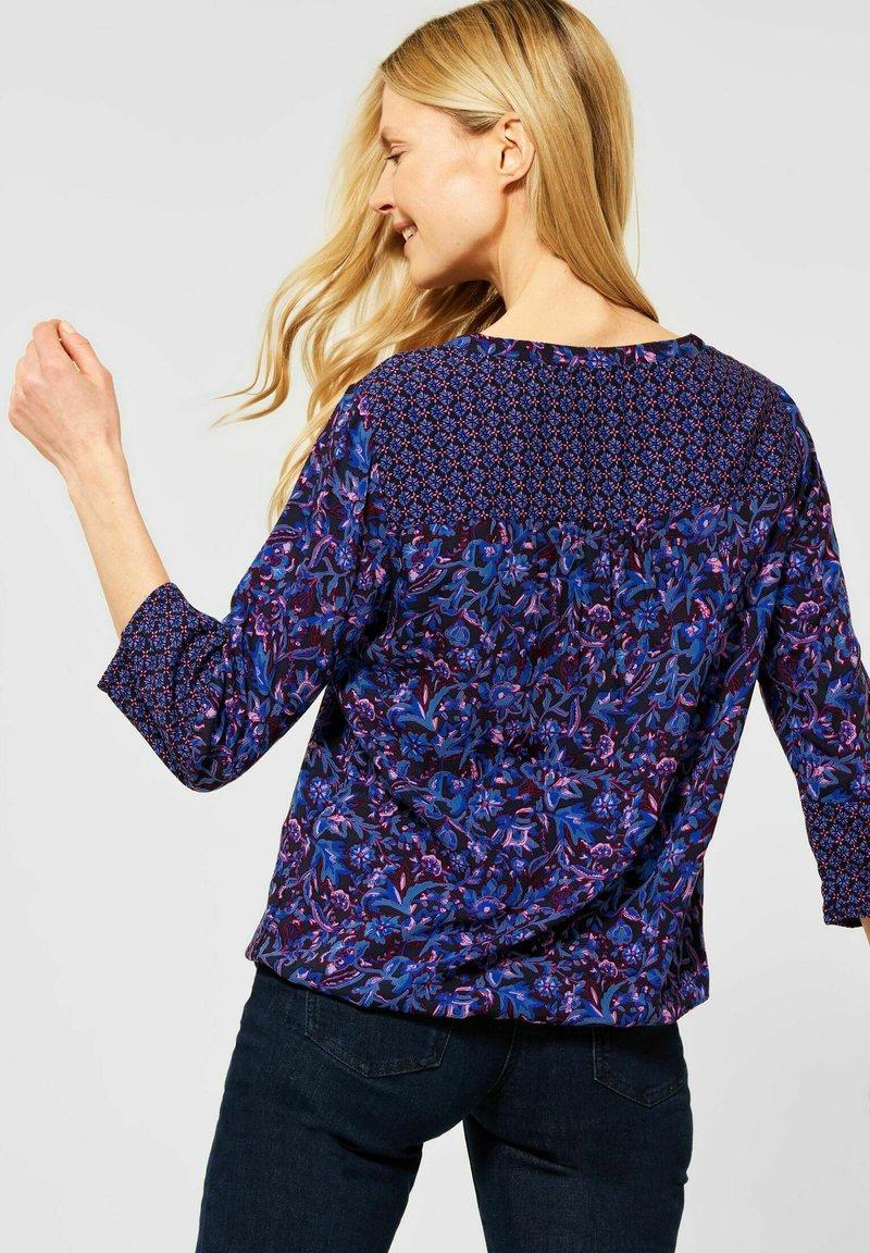Cecil - Button-down blouse - blau