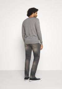 G-Star - 3301 STRAIGHT TAPERED - Straight leg jeans - slander grey  superstretch - 2