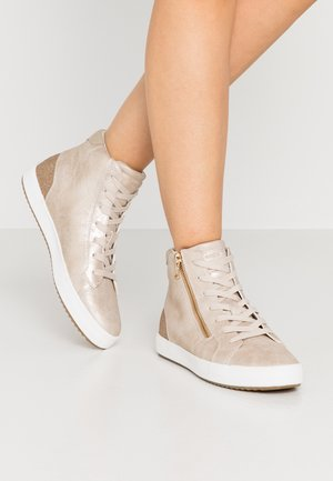 BLOMIEE - High-top trainers - light gold