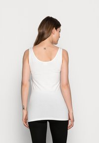 MAMALICIOUS - MLSIA NELL TANK 2 PACK - Top - black/snow white - 2