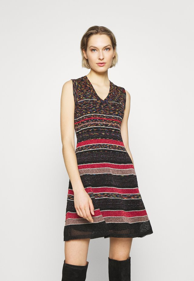 SLEEVES DRESS - Jumper dress - red