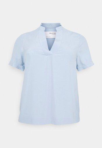 SLFALLA CURVE - Bluser - cashmere blue