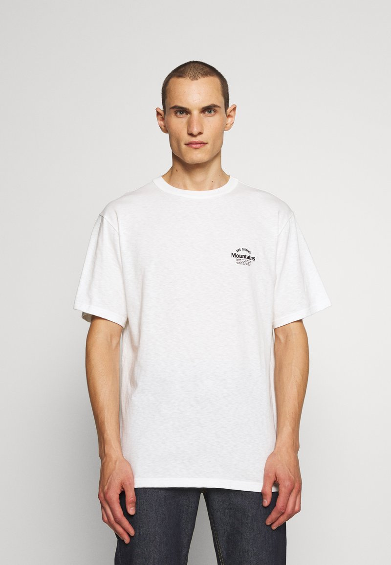 Bally - Jednoduché triko - white