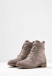 Be Natural - Botines con cordones - taupe - 4