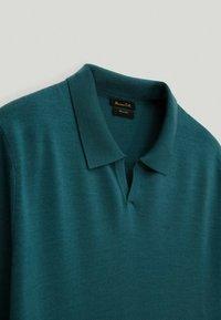Massimo Dutti - Polo shirt - teal - 2