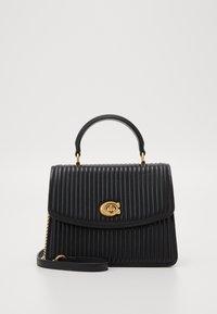 QUILTING PARKER TOP HANDLE - Handbag - black