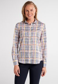 Eterna - MODERN CLASSIC - Button-down blouse - bunt - 0