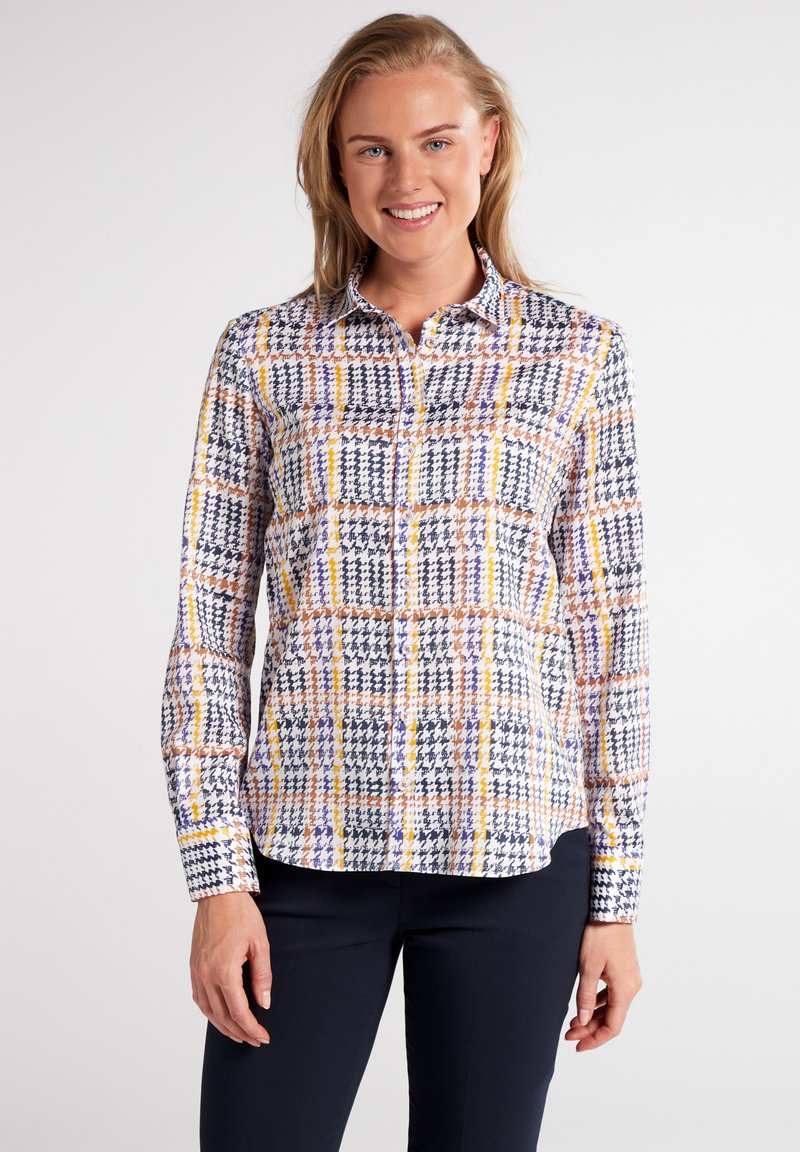 Eterna - MODERN CLASSIC - Button-down blouse - bunt