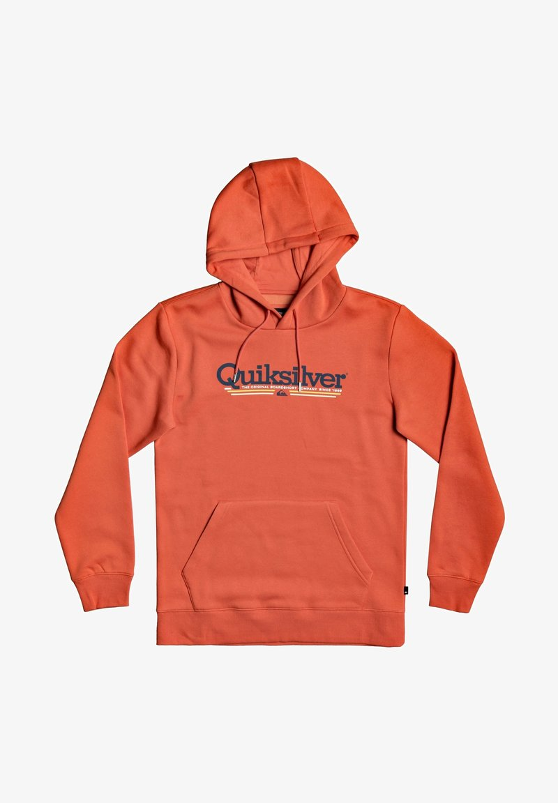 Quiksilver - TROPICAL LINES - Hoodie - chili