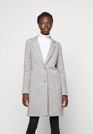 ONLCARRIE LIFE COAT - Klassisk kåpe / frakk - light grey melange