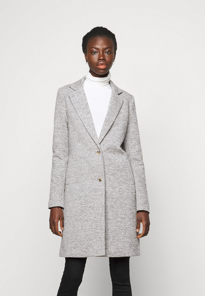 ONLY Tall - ONLCARRIE LIFE COAT - Klasický kabát - light grey melange