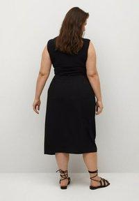 Violeta by Mango - SHARI - Wrap skirt - black - 2