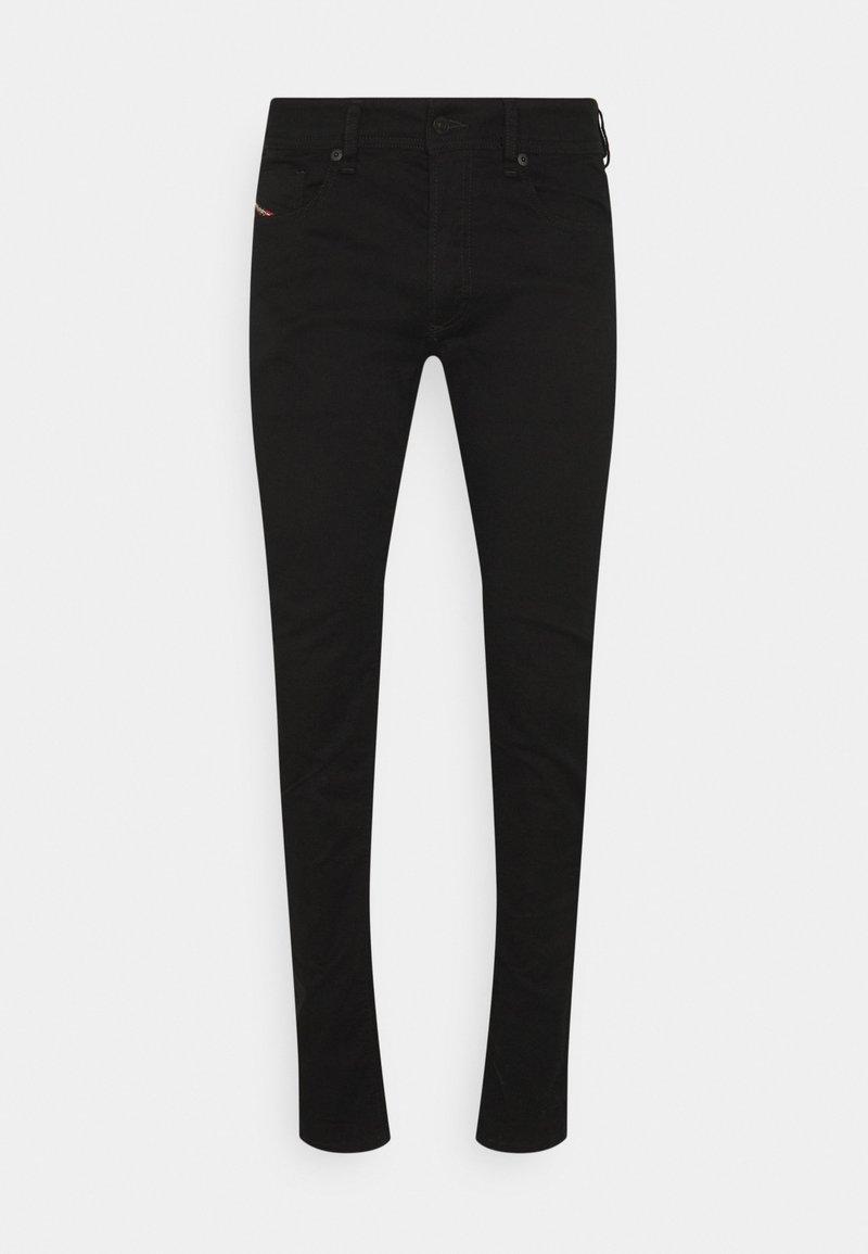Diesel - SLEENKER - Jeans Skinny Fit - black denim