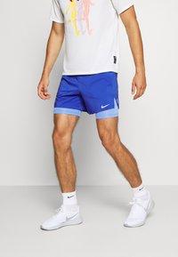 Nike Performance - STRIDE SHORT - kurze Sporthose - astronomy blue/reflective silver - 0