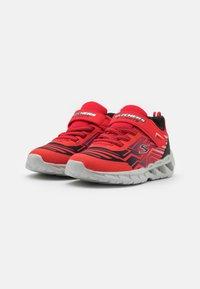 Skechers - MAGNA LIGHTS BOZLER - Trainers - red/black - 1