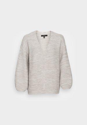 VMNO SHORT CARDIGAN - Cardigan - light grey melange