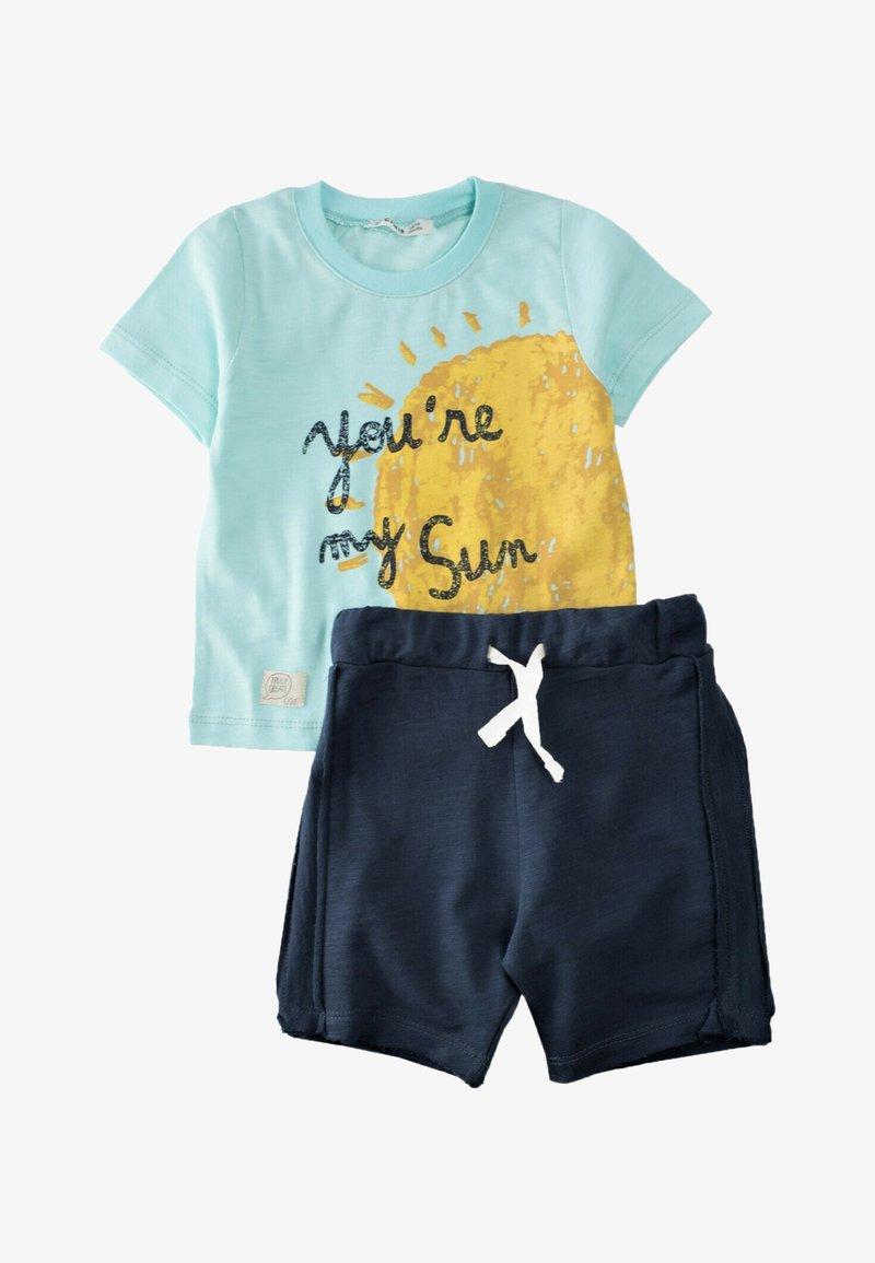 Cigit - SET - Shorts - turquoise/blue