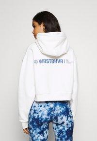 WRSTBHVR - FAITH HOODIE  - Sweatshirt - off white - 2