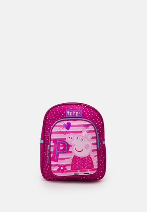 BACKPACK PEPPA PIG BE HAPPY - Rucksack - fuchsia