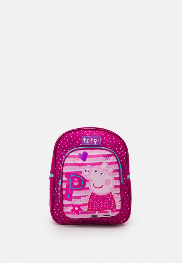 BACKPACK PEPPA PIG BE HAPPY - Ryggsäck - fuchsia