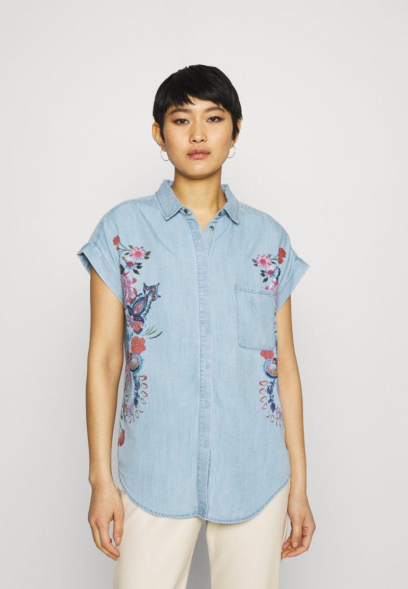 Desigual - SULLIVAN - Camisa - blue