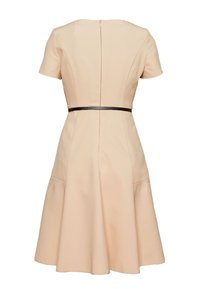 Dorothy Perkins Petite - PETITES FIT AND FLARE SHORT SLEEVE DRESS - Kjole - stone - 1