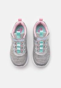 Skechers - DREAMY LITES - Trainers - light grey heathered/aqua/pink - 3