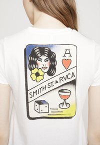 RVCA - SMITH STREET - T-shirt med print - antique white - 5