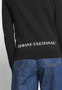 Armani Exchange - Mikina na zip - black - 4