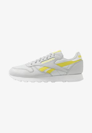 Sneakers - pure grey/chartreuse/white