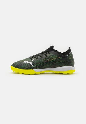 ULTRA 1.2 PRO CAGE - Astro turf trainers - black/white/yellow alert