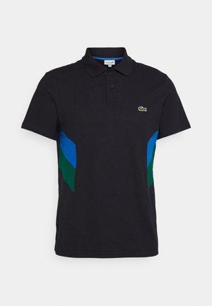 MOUNTAIN - Polo shirt - bleu marine/bleu/vert