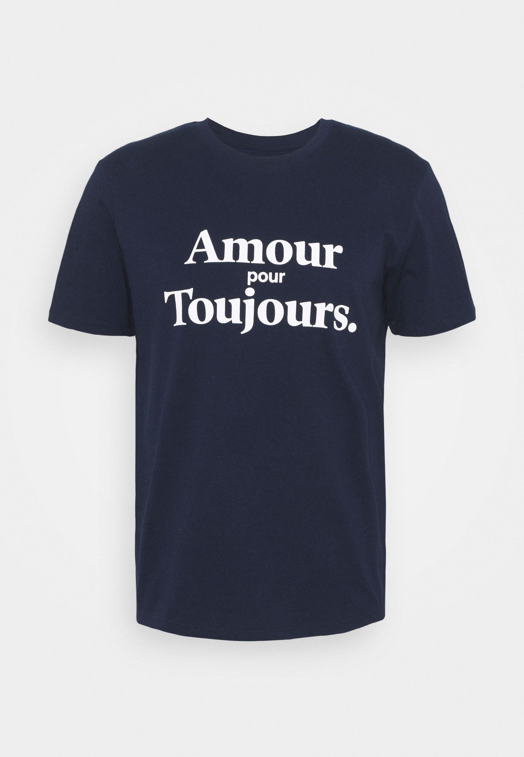 Men AMOUR POUR TOUJOURS UNISEX - Print T-shirt