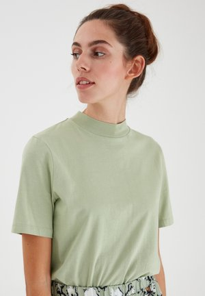 IHRANIA - Basic T-shirt - desert sage