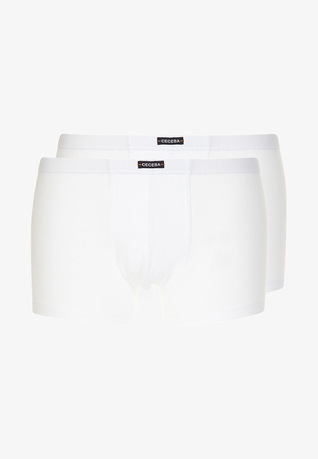 2 PACK - Pants - white