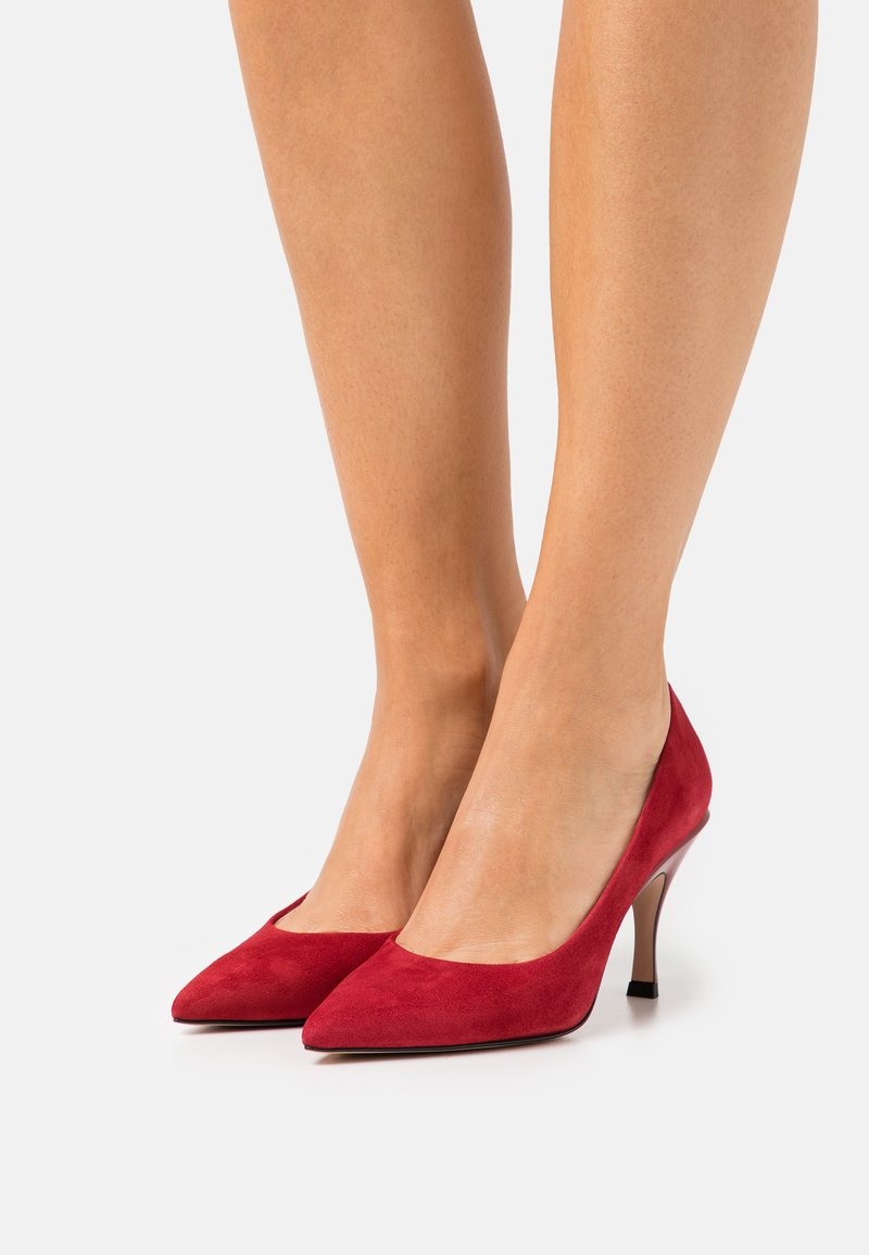 HUGO - TONIC - Classic heels - dark red