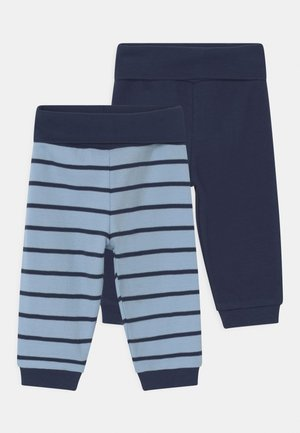 2 PACK UNISEX - Trousers - blue/dark blue