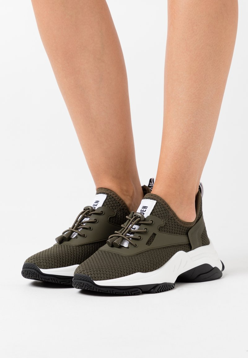 Steve Madden - MATCH - Sneakers - olive/multicolor