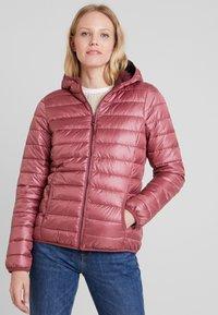 TOM TAILOR DENIM - HOODED PUFFER - Winter jacket - renaissance rose/red - 0