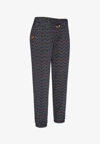 Ragwear - TALIN CHEVRON - Trousers - navy - 0