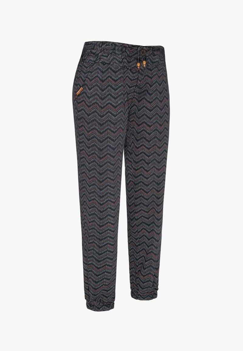 Ragwear - TALIN CHEVRON - Trousers - navy