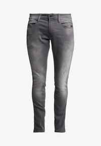 G-Star - REVEND SKINNY - Jeans Skinny Fit - slander grey superstech - 3
