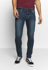 Volcom - Slim fit jeans - dark blue denim - 0