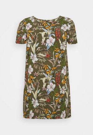 CARLUXINA DRESS  - Korte jurk - kalamata
