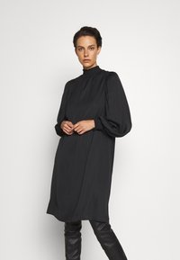 Bruuns Bazaar - PRICKLY METTE DRESS - Day dress - black - 0