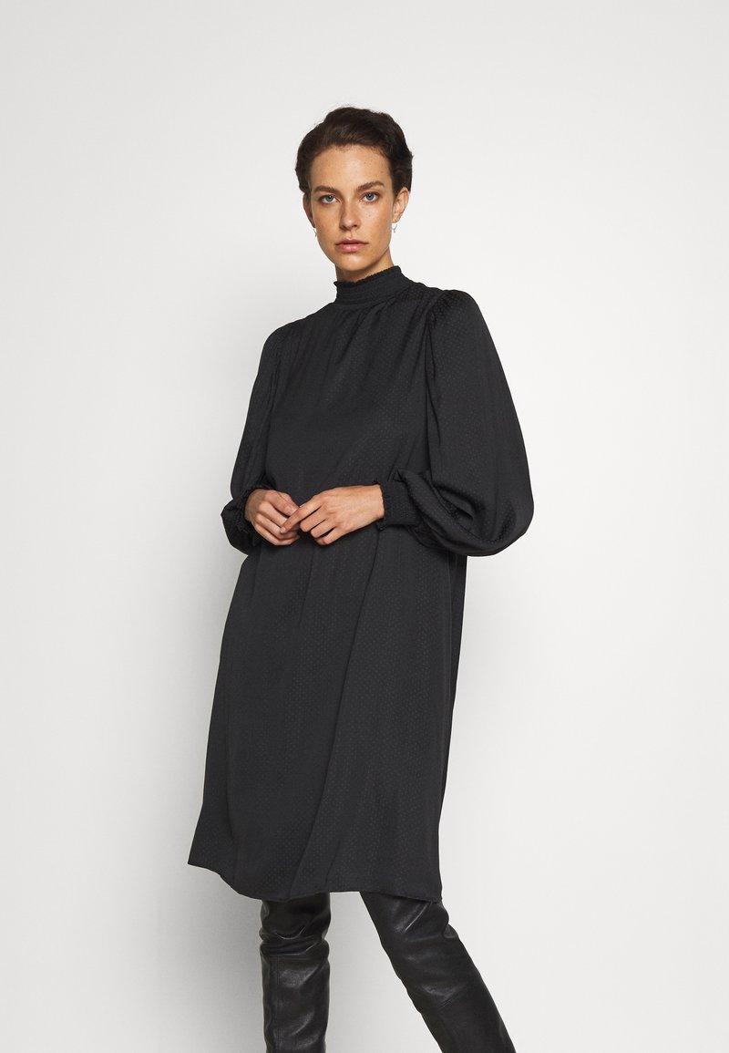 Bruuns Bazaar - PRICKLY METTE DRESS - Day dress - black