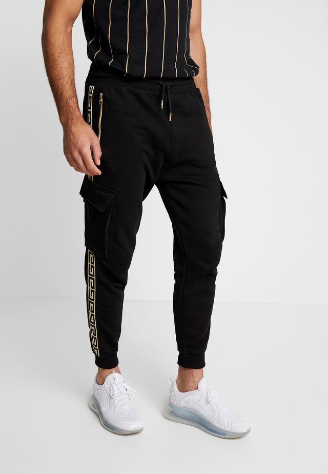 ALPHA JOGGER - Tracksuit bottoms - black