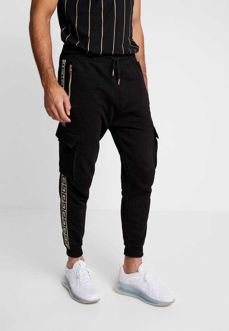 Glorious Gangsta - ALPHA JOGGER - Pantalon de survêtement - black